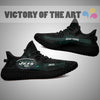Art Scratch Mystery New York Jets Yeezy Shoes