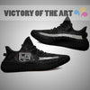 Art Scratch Mystery Los Angeles Kings Yeezy Shoes