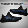 Art Scratch Mystery Toronto Maple Leafs Yeezy Shoes