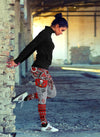 Boho Tampa Bay Buccaneers Leggings With Fantastic Art