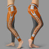 Fashion Gorgeous Fitting Fabulous Texas Longhorns Leggings