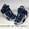 Amazing Pattern Human Race Toronto Blue Jays Shoes For Fans
