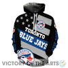 Proud Of American Stars Toronto Blue Jays Hoodie