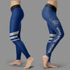 Through Great Logo Spread Body Striped Circle Toronto Maple Leafs Leggings
