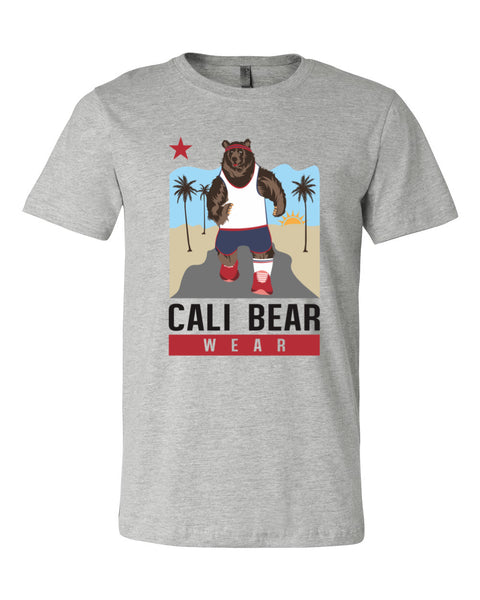 Cali Bear Jogging T-Shirt