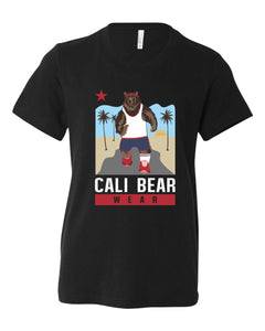 Cali Bear Jogging Youth Tee