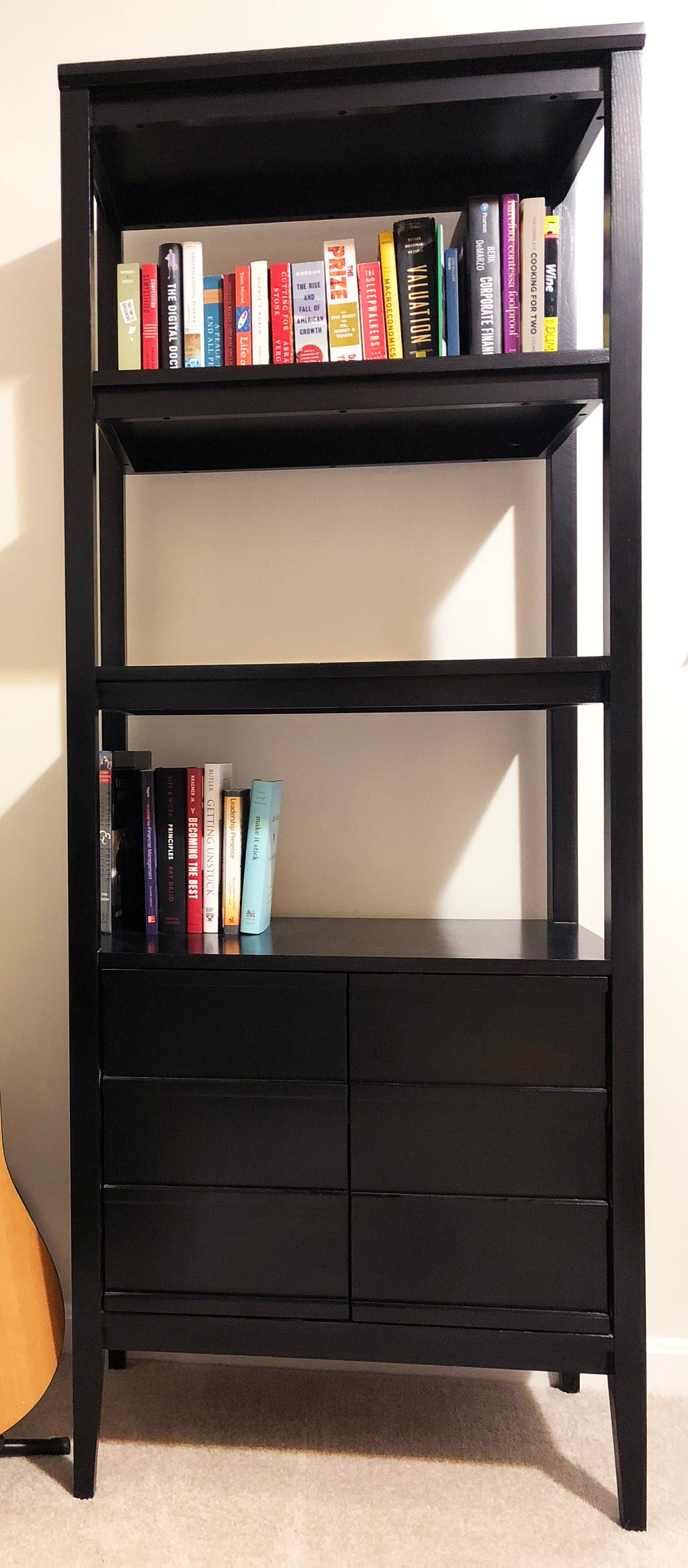 Crate & Barrel Bookshelf