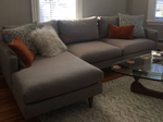 Room & Board Jasper Couch with Chaise