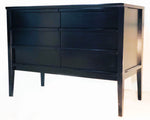 Crate & Barrel Ebony Cabinet