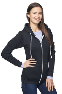 Unisex Fashion Fleece Zip Hoody