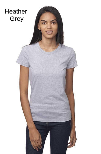 Women's Short Sleeve Fine Jersey Tee