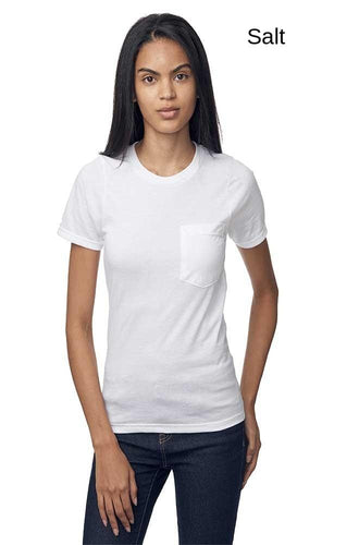 Unisex Short Sleeve Organic Pocket Tee