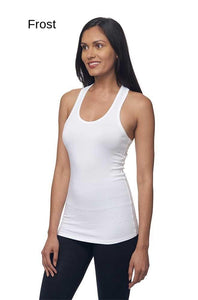 Bamboo & Organic Cotton Combed Spandex Racer Tank