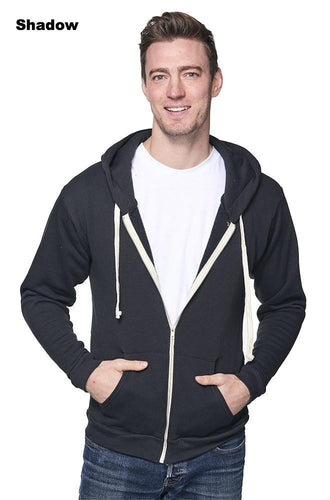 Unisex Organic Fleece Zip Hoody