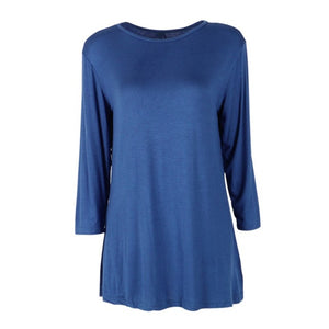 Women 3/4 Sleeve Sleeve Cotton Tee