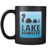 Lake Monster Mug (Black 11 oz.)