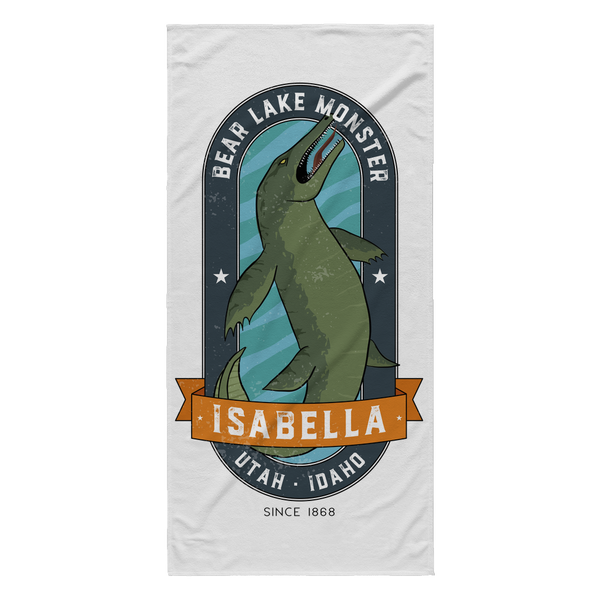 Bear Lake Monster Beach Towel
