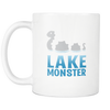 Lake Monster Mug (White 11 oz.)