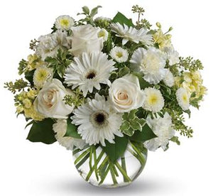 Brisbane Florist, Brisbane Flowers, Brisbane luxury florist, buy online, Fresh flower delivery, No-fuss flower delivery, White, white flowers