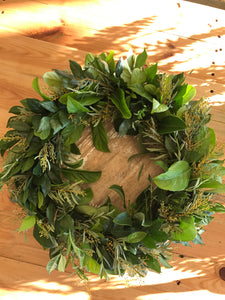Natural Foliage Wreath