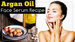 DIY Face Serum with Prickly Pear Seed and Argan Oil