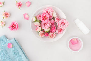 Rose Water Step by Step Hair Guide + DIY Hair Treatment