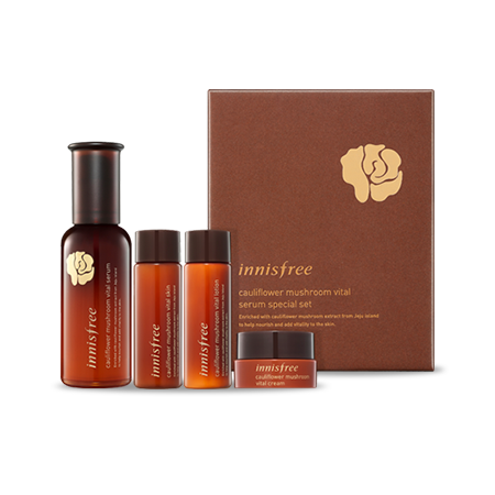 Innisfree Cauliflower Mushroom Vital Serum Special Set