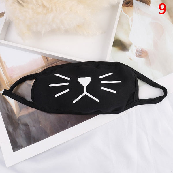 1PC Cute Cartoon Face Mask Funny Teeth Pattern Unisex Anti Dust Winter Warm Mouth Mask Multi Style Hot Sale