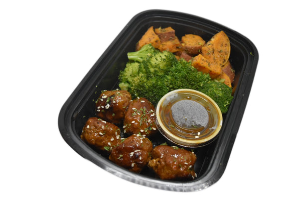 Teriyaki Turkey Meatball