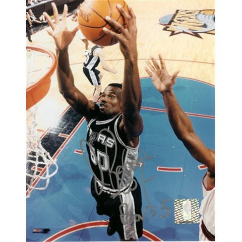 "San Antonio Spurs Autographed David Robinson 8"" x 10"" Photo"