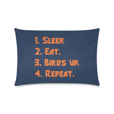 "San Antonio University ""Checklist"" Rectangle Pillow Case (Twin, Full, Queen, or King)"