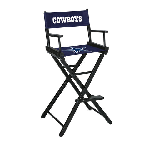 Dallas Cowboys Bar Height Directors Chair