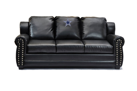 Dallas Cowboys Coach Leather Sofa