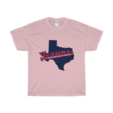 "Houston Football ""Deep in the Heart"" Unisex Heavy Cotton Tee"