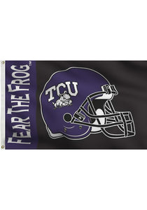 TCU Horned Frogs: Fear the Frog Flag; 3'x5'
