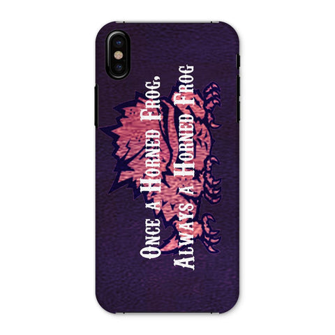 "Fort Worth University ""Once a Horned Frog, Always a Horned Frog"" Phone Case"