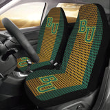 Waco University Chain Link Car Seat Covers (Set of 2)