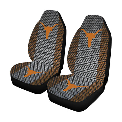 Austin University Chain Link Car Seat Covers (Set of 2)