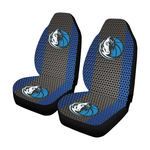 Dallas Basketball Chain Link Car Seat Covers (Set of 2)