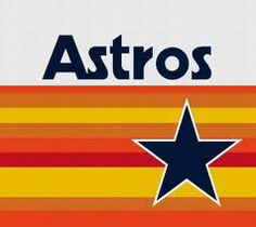Houston Astros: Throwback Stripes Logo Flag; 3'x5'