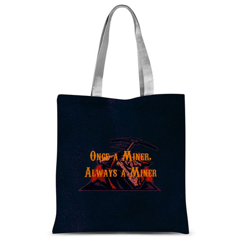 "El Paso University ""Once a Miner, Always a Miner"" Sublimation Tote Bag"