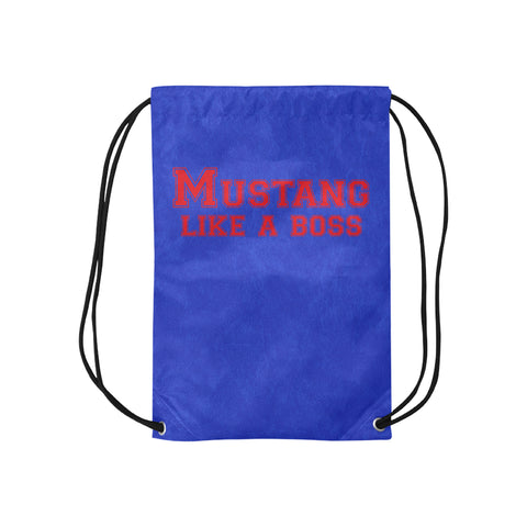 "Dallas Methodist University ""Like a Boss"" Drawstring Bag - Blue"