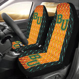 Waco University Diamond Plate Car Seat Covers (Set of 2)