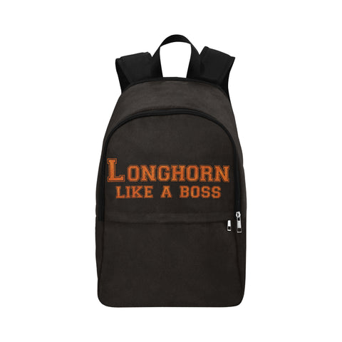 "Austin University ""Like a Boss"" Backpack - Black"