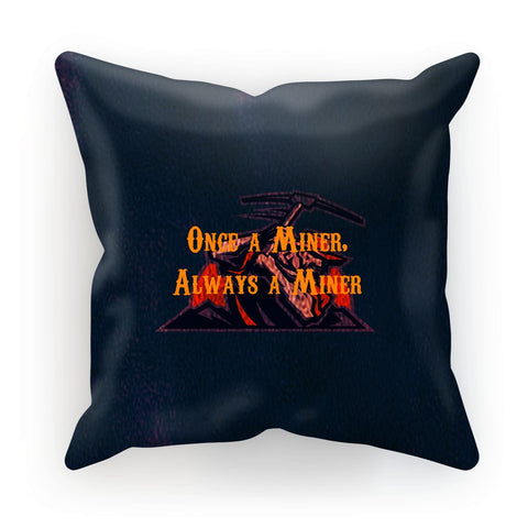 "El Paso University ""Once a Miner, Always a Miner"" Cushion"