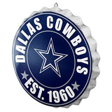 Dallas Cowboys OR Houston Texans: Bottle Cap Wall Sign