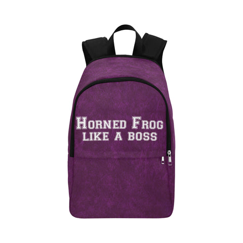 "Fort Worth University ""Like a Boss"" Backpack - Purple"