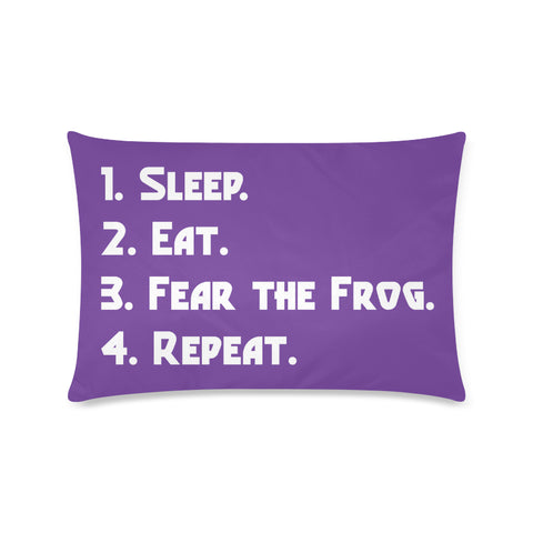 "Fort Worth University ""Checklist"" Rectangle Pillow Case (Twin, Full, Queen, or King)"