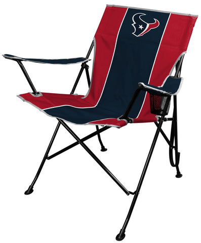 Dallas Cowboys OR Houston Texans: Portable Folding Tailgate Chair with Cup Holder and Carrying Case