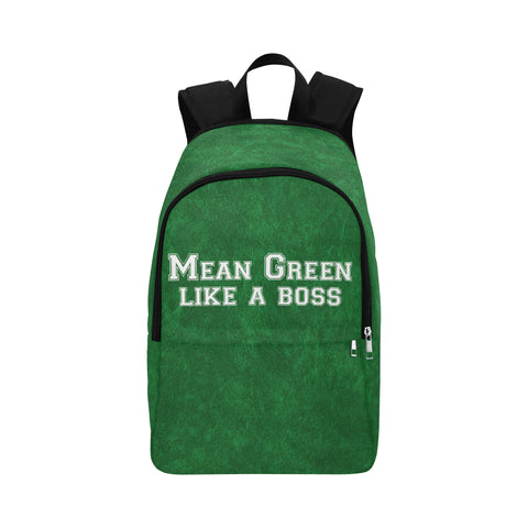 "Denton University ""Like a Boss"" Backpack - Green"